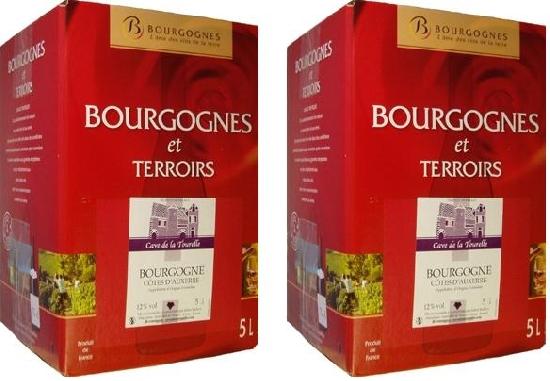 2 fontaines a vin rouge 2011 de 5 litres longue conservation bag in box - Conservation vin rouge ...