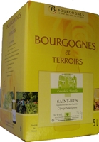 1 fontaines a vin blanc saint bris 2015 longue conservation bag in box cave de la tourelle. Black Bedroom Furniture Sets. Home Design Ideas